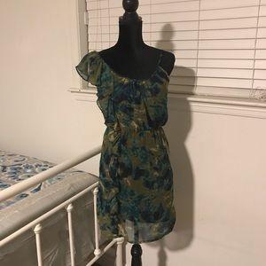 Angie Ruffle Dress